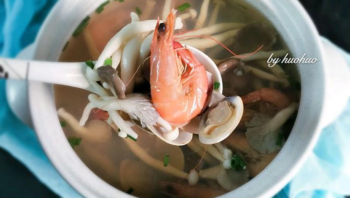 菌味海鲜汤