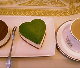 绿茶慕斯 可可慕斯 2寸的做法