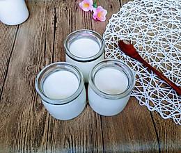 自制老酸奶#让爱不负好食光#的做法