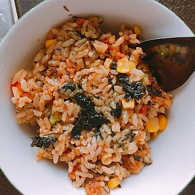 简易韩式炒饭