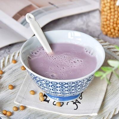 紫甘蓝豆浆
