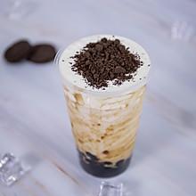 喜茶奶茶系列创新奥利奥奶茶——小兔奔跑奶茶教程
