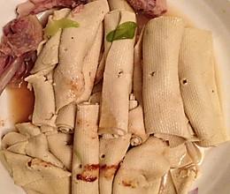鸡汤干豆腐串的做法