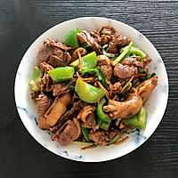 姜葱爆炒白鸭肉的做法图解7