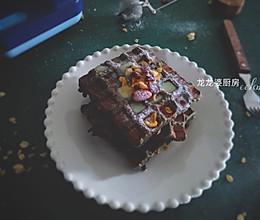 #夏日撩人滋味#【花生黑芝麻华夫饼】吐司版的做法