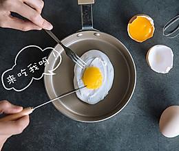 荷包蛋蛋白糖的做法