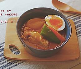 日式汤咖喱#憋在家里吃什么#的做法