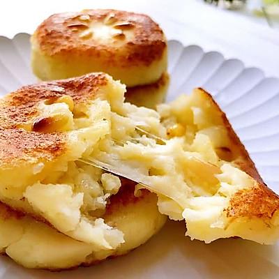 拉丝土豆饼