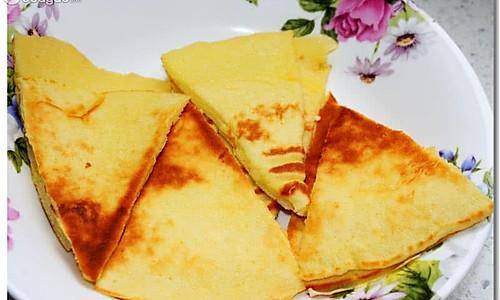 奶香鸡蛋饼的做法