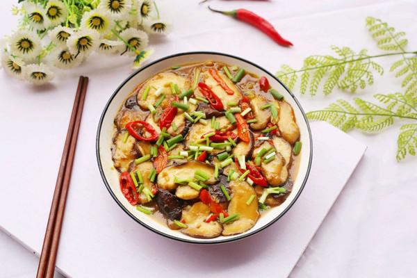 拿肉都不换的素炒香菇的做法