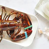 蒜蓉粉丝蒸波士顿龙虾的做法图解2