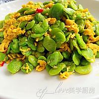 蚕豆米炒蛋的做法图解6