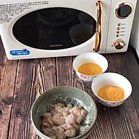 #肉食主义狂欢#微波炉盐酥鸡•无油低卡减脂小零食的做法图解1