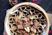 口蘑羊肉莜面窝窝#西贝莜面争霸赛#的做法