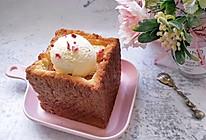 蜂蜜厚多士 冰淇淋面包的做法