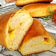 #餐桌上的春日限定#芒果奶酪包