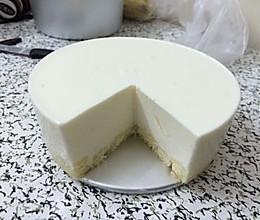酸奶慕斯蛋糕(六寸)的做法