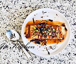 简单风味家常菜-香煎豆腐#中式减脂餐#的做法