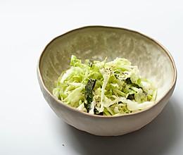 盐渍卷心菜沙拉-爽口快手菜-禁欲系日式料理,巧用盐烹煮食物的做法