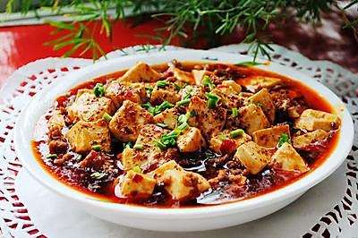 麻婆豆腐#我要上首页家常下饭菜#