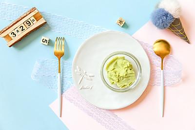 辅食日志 | 豌豆山药泥米糊