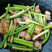 蒜苔回锅肉的做法图解11