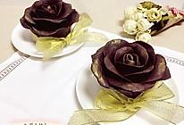 巧克力玫瑰花芝士蛋糕#有颜值的实力派#的做法