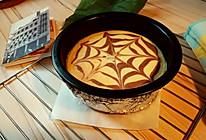 纽约芝士蛋糕--可可拉花的做法