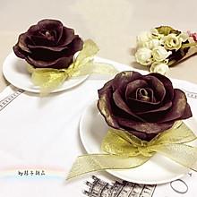 巧克力玫瑰花芝士蛋糕#有颜值的实力派#