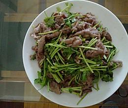 香菜牛肉的做法