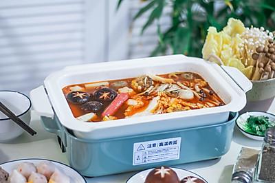 夏日深夜美食-蔬菜火锅