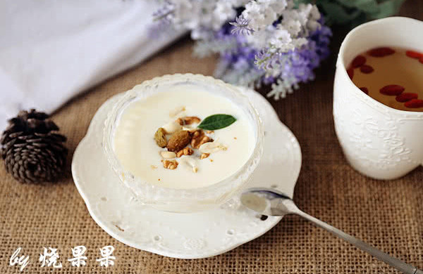 自制营养酸奶(加木糖醇)