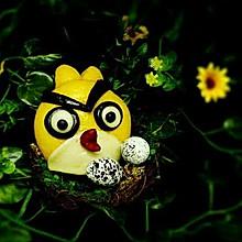 愤怒的小鸟馒头+#福临门好面用芯造#