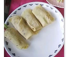 小卷饼(儿童早餐)的做法