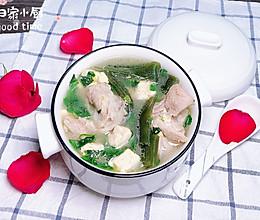 海带棒骨汤 #今天吃什么#的做法