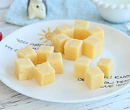 一道光靠颜值就能吸引宝宝的小米糕,不仅简单快手营养也很高!的做法