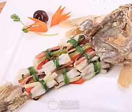 滑炒柴把鳜鱼—《顶级厨师》参赛作品的做法