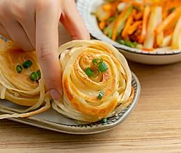 盘丝饼|焦香酥脆的做法