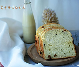 葡萄干欧式软面包--------柏翠面包机试用菜谱之三的做法