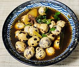 十三茶香鹌鹑蛋的做法