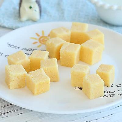 一道光靠颜值就能吸引宝宝的小米糕,不仅简单快手营养也很高!