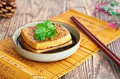 秋冬补品 暧身暖胃 黄酒煮豆腐