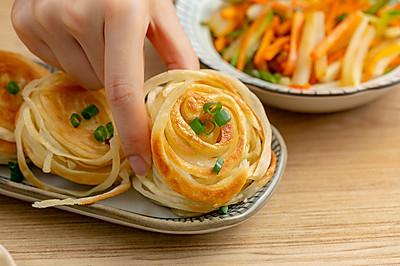 盘丝饼|焦香酥脆