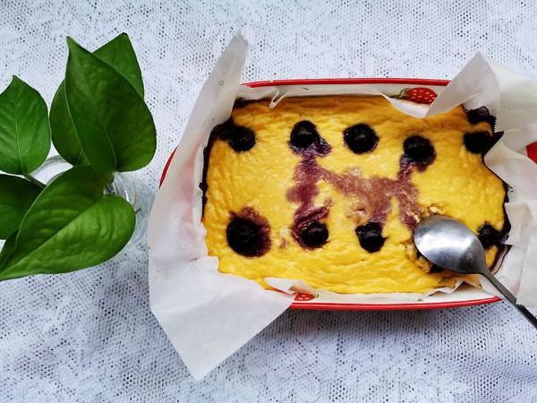 减脂餐~~豆腐蓝莓爆浆蛋糕的做法