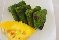菠菜虾皮饼的做法