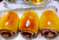 紫薯面包卷的做法