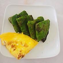 菠菜虾皮饼