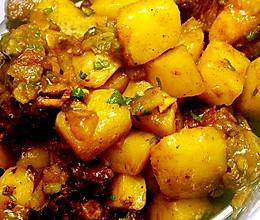 排骨土豆烧的做法