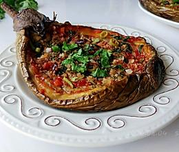 蒜香辣酱烤茄子的做法