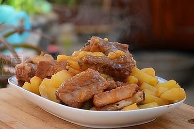 大喜大牛肉粉试用之排骨炖土豆